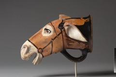 Donkey Head Rhyton, Greece, 475 B.C.